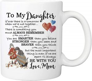 For my daughter's coffee cup