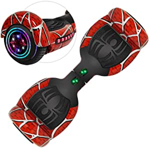 Interesting hoverboard with Bluetooth speakers and LED lights