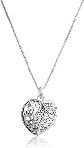 My daughter, my heart necklace