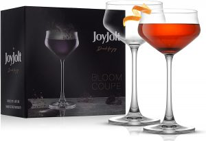 Tom Dixon Puck Set from Two Coupe Glasses