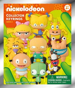 Nickelodeon 3D Collectible Key-Ring Blind Bag